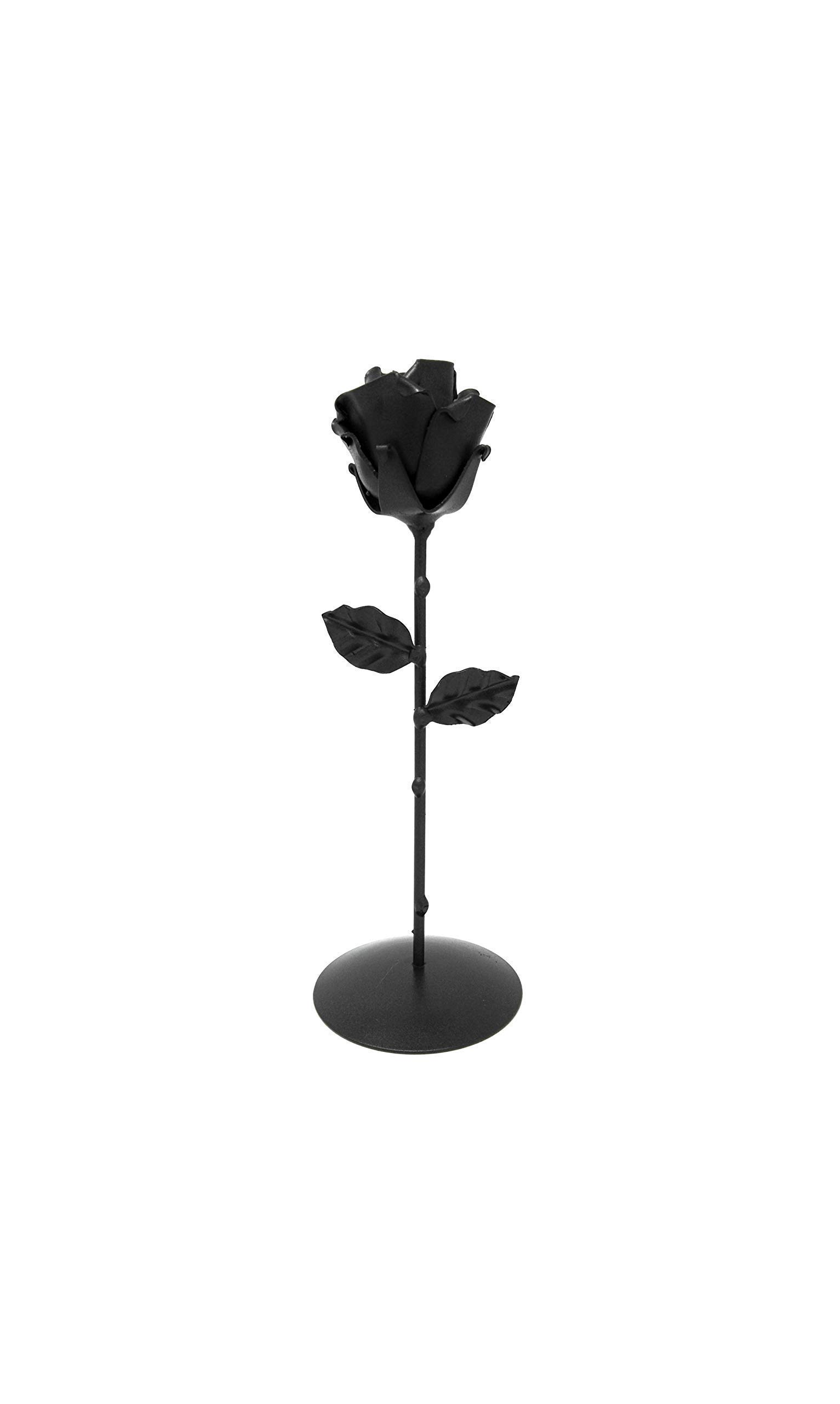-Eternal-Rose-Hand-Forged-Wrought-Iron-Black-with-BaseIdeal-gift-Valentines-Day-Girlfriend-Mothers-Day-Couple-Birthday-Christmas-Wedding-Day-Anniversary-Decor
