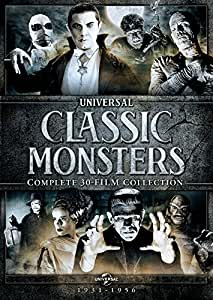 Classic Monsters (Complete 30-Film Collection)