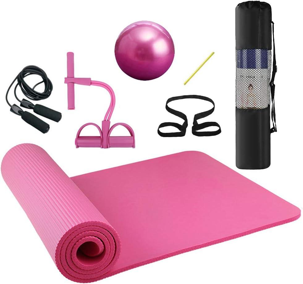sans substances nocives avec sangle de transport 183 x 61 x 0,6 cm RE:SPORT Tapis de yoga sans phtalates Tapis de gymnastique antid/érapant