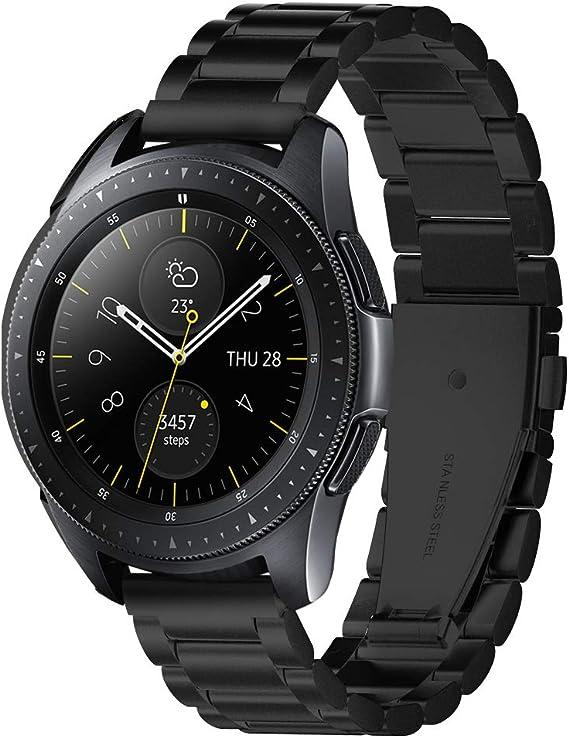 Spigen Modern Fit Designed for Samsung Galaxy Watch Active 1&2 (2019) / Galaxy Watch 42mm (2018) / Gear S2 Classic (2015), 20mm Smartwatch Band - ...