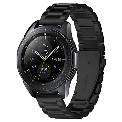 Spigen Modern Fit Designed for Samsung Galaxy Watch Active 1&2 (2019) / Galaxy Watch 42mm (2018) / Gear S2 Classic (2015), 20mm Smartwatch Band - ...