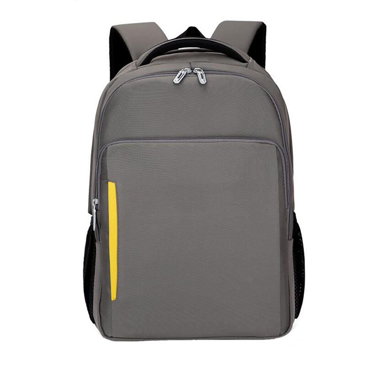 Grey One Size Shoulder Bag Anti  Pack Bag Student Business Computer Pack USB Rechargeable Backpack