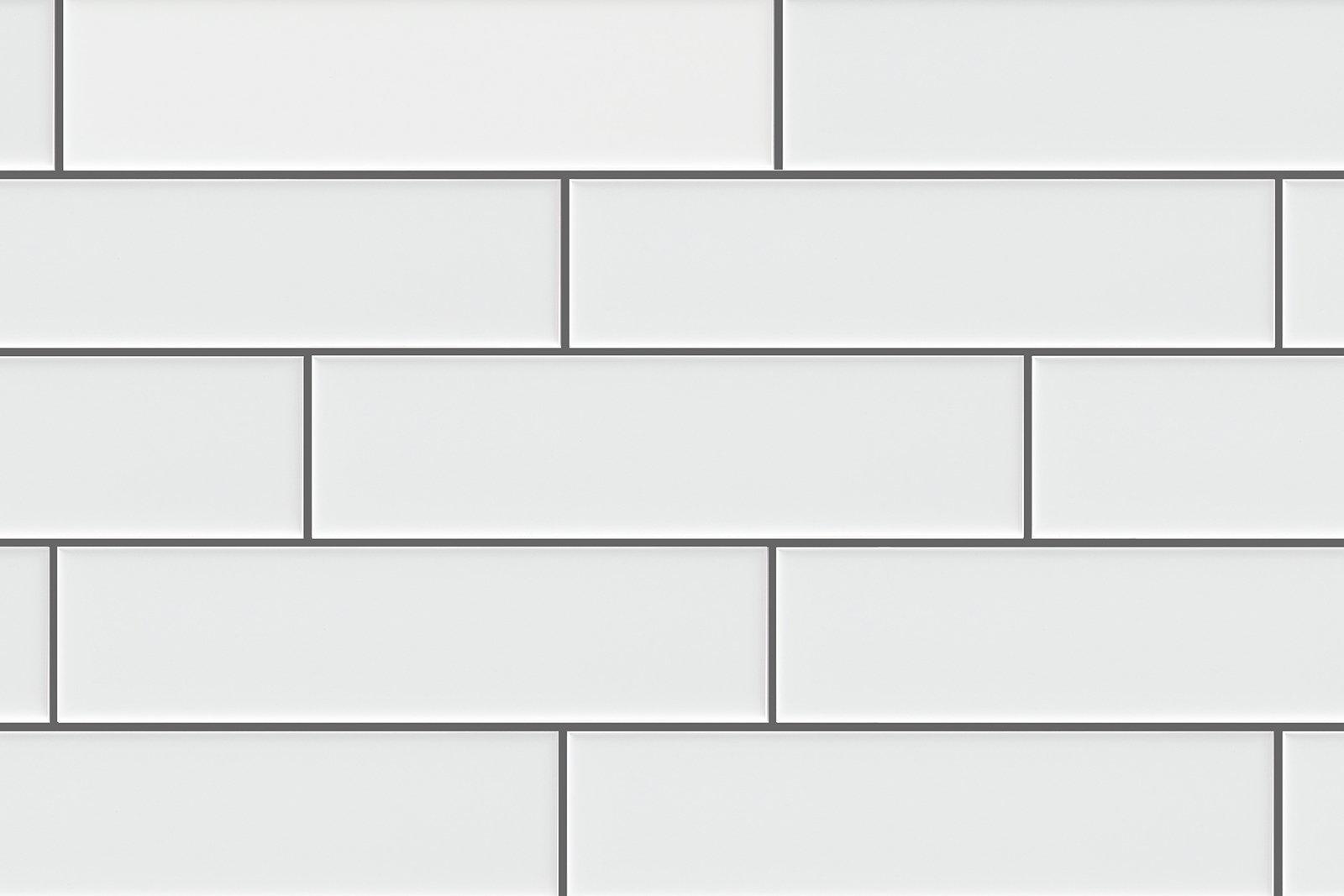 White Porcelain Subway Tile Gloss Finish 2'' X 8'' ( 88 pieces- Box of 10 Sqft), Wall Tile, Floor Tile, Backsplash Tile, Bathroom Tile, Vogue Brand Designed in Italy by Vogue Tile