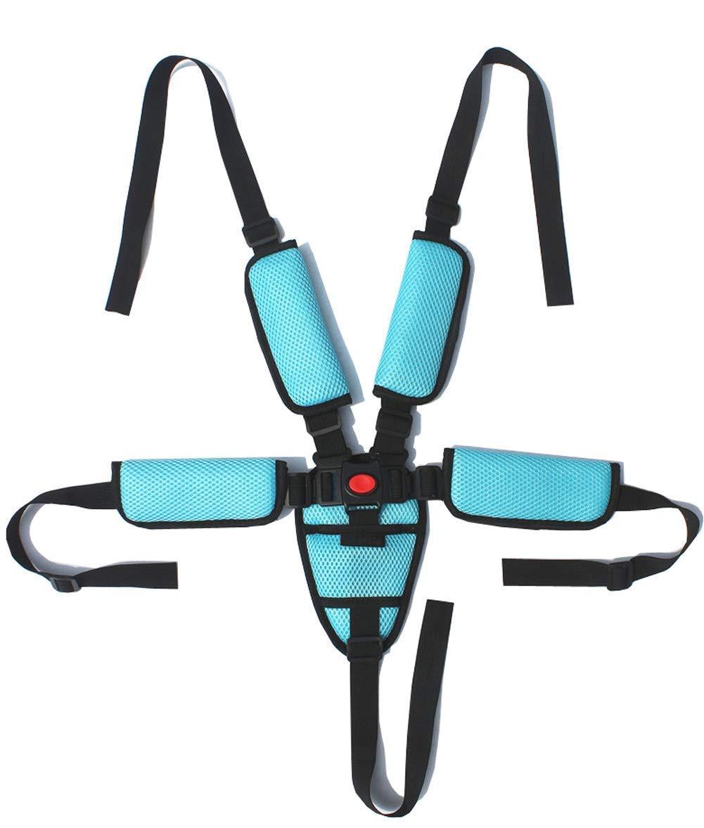 Bebé 5 Puntos Cinturón Seguridad Cinturón De Arnés para Asientos ...