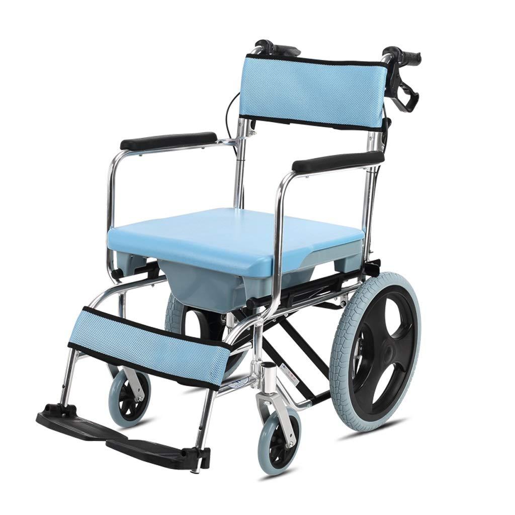 価格は安く 便器車椅子 - B07P5M6759 入浴車椅子高齢者用携帯車椅子折りたたみ車椅子障害者用トロリー (色 (色 - : 青) 青 B07P5M6759, なないろ広場:2a7c82a1 --- a0267596.xsph.ru