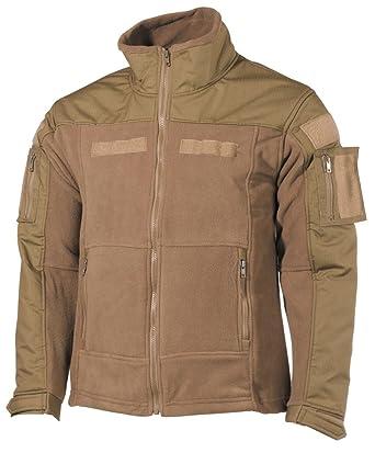 mfh tactical  : MFH Men's US Combat Fleece Jacket Coyote: Clothing