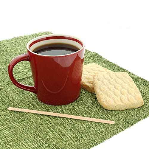 Royal 7.5'' Individually Wrapped Wood Coffee Stirrers, Package of 500 by Royal (Image #2)