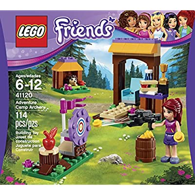 LEGO Friends Adventure Camp Archery 41120: Toys & Games