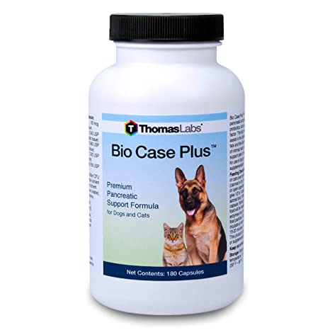 Amazon.com: Thomas Labs Bio Caso Plus (180 Cápsulas): Mascotas