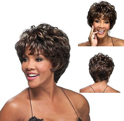 Peluca natural mujer angelof Hair Grease Deguisement cola sin POUX ...