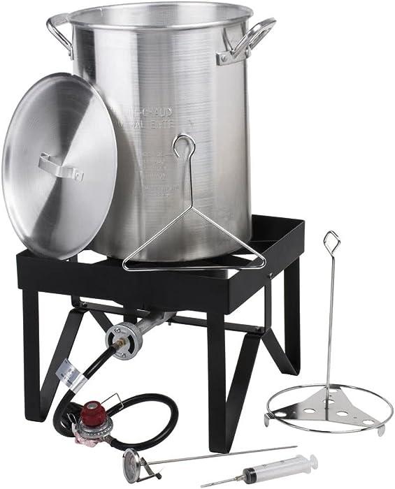 Backyard Pro 30 Qt. Turkey Fryer Kit - 55,000 BTU