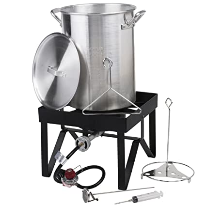 Image Unavailable - Amazon.com : Backyard Pro 30 Qt. Turkey Fryer Kit - 55, 000 BTU