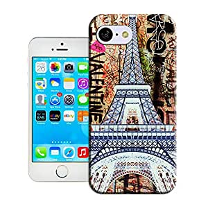 MOON WATER-I Love valentine Eiffel Tower-iPhone 5c case