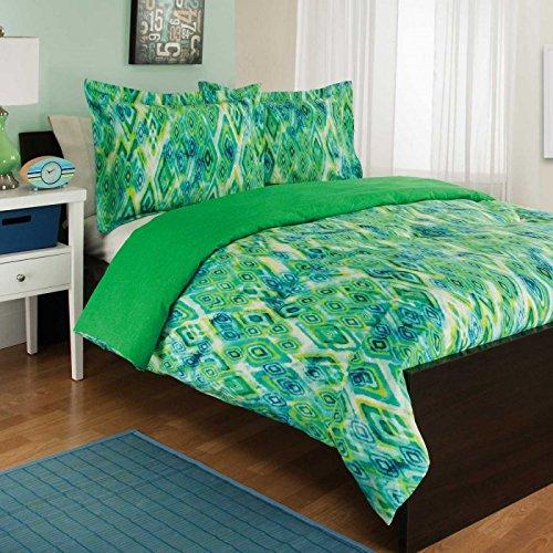 Blue Aqua Amp Green Hawaiian Tropical Twin Comforter
