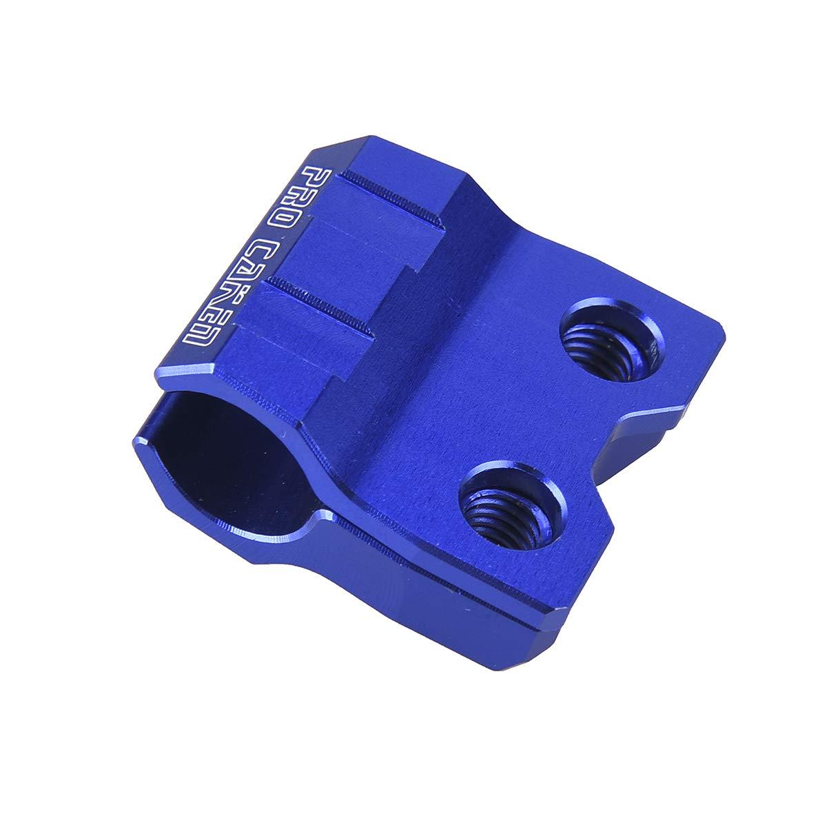 Pro Carken CNC Bremsschlauchklemme Halter fü r YZ125 YZ250 YZF250 YZF450 YZ250X YZ250FX YZ450FX WR125 WR250 WRF250 WRF450 DirtBikeHome