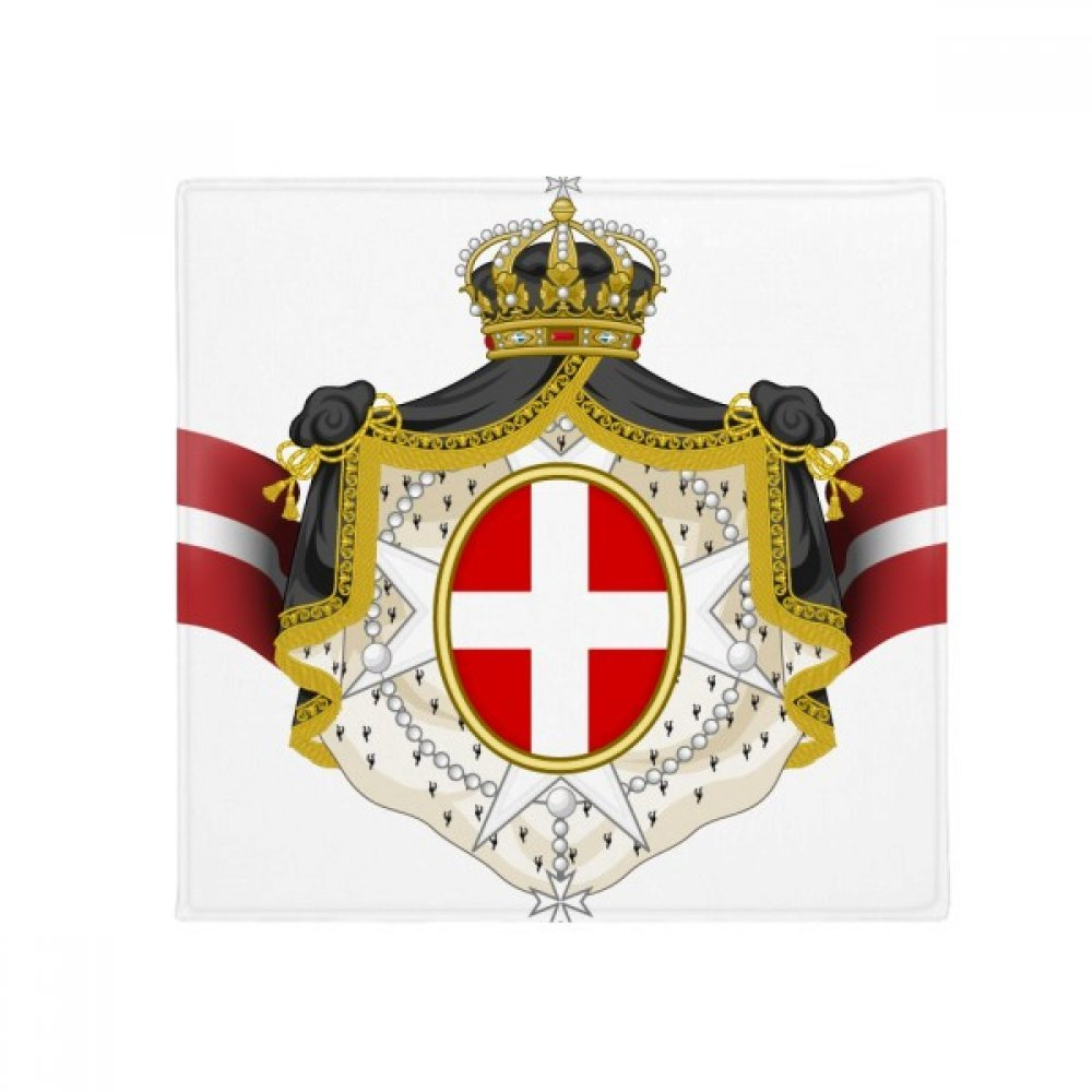 DIYthinker Denmark National Emblem Country Symbol Anti-Slip Floor Pet Mat Square Home Kitchen Door 80Cm Gift