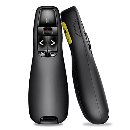 5b1c60a6bd8 Amazon.com : BEBONCOOL Wireless Presenter Remote, 2.4GHz Wireless USB  Presenter PowerPoint Remote PPT Clicker for Presentation : Electronics