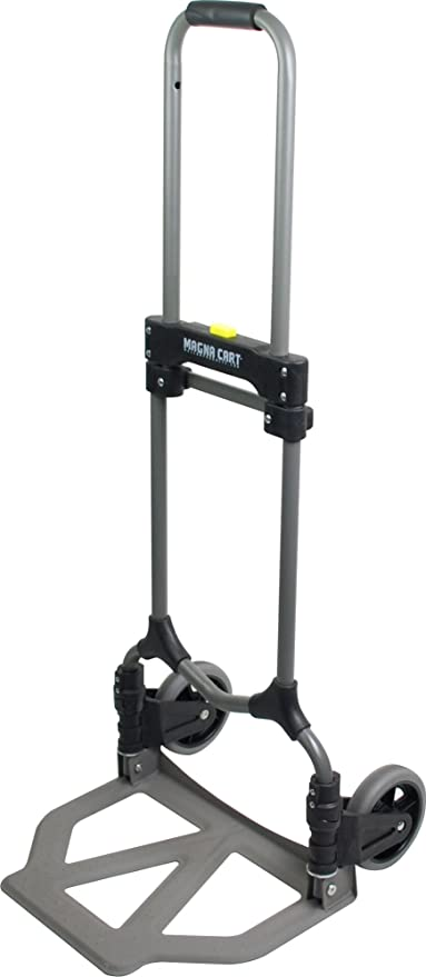 Magna Cart Ideal 150 lb Capacity Steel Folding Hand Truck: Amazon.es: Bricolaje y herramientas