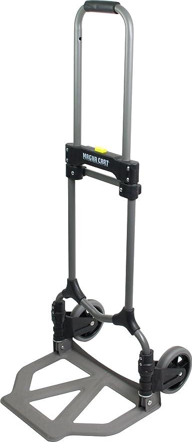 Magna Cart Ideal 150 lb Capacity Steel Folding Hand Truck: Amazon.es: Bricolaje y herramientas