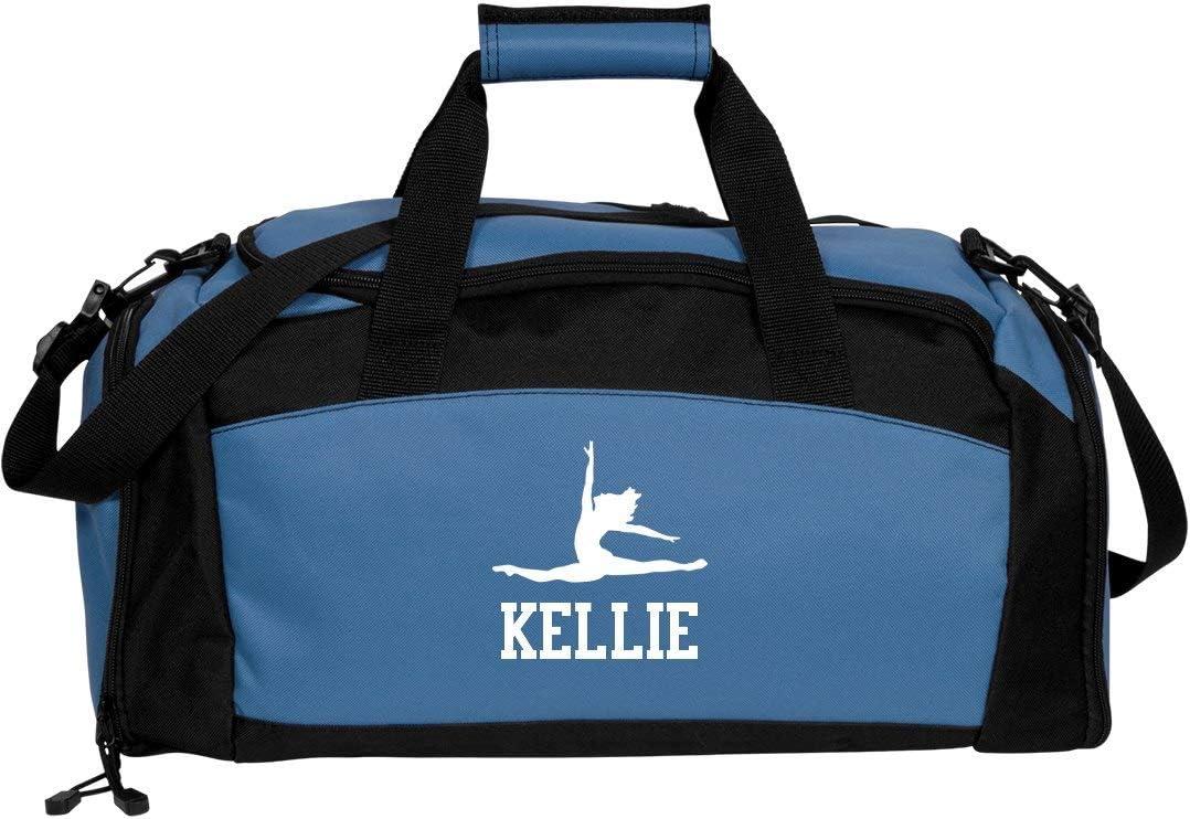 FunnyShirts.org Kellie Gymnastics /& Dance Gym Duffel Bag