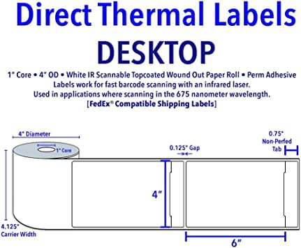 This is an image of Versatile Printable Fedex Shipping Labels