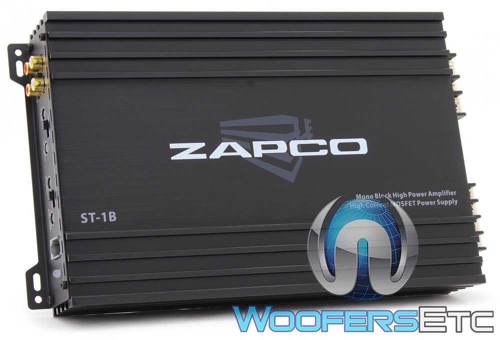 Zapco ST-1B Monoblock 300W RMS Class AB Amplifier
