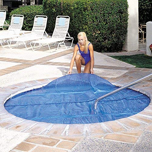 Solar Thermal Blanket - 7'x7 Spa & Hot Tub Thermal Solar Blanket Cover-15 Mil