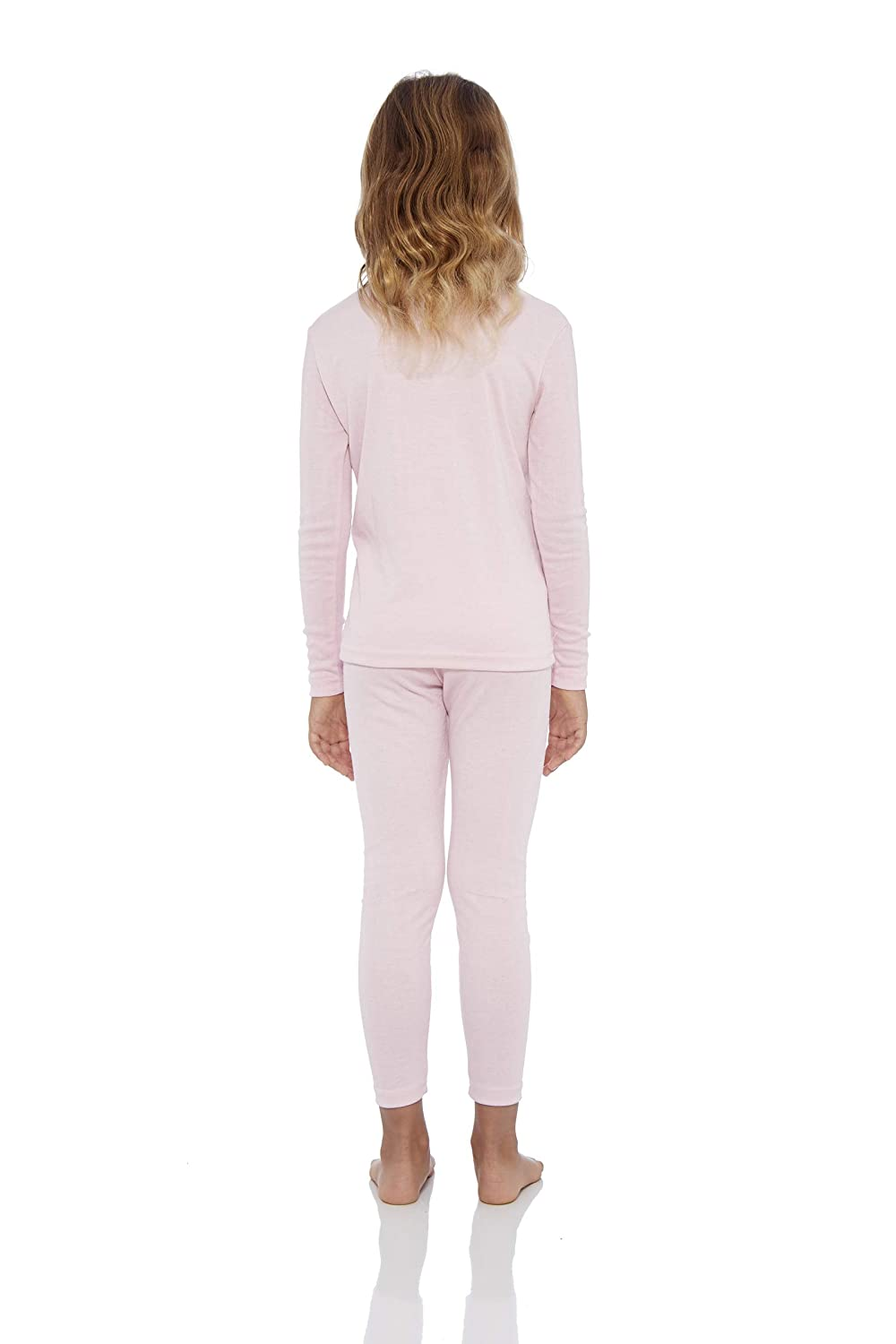 Rocky Girls Smooth Knit Thermal Underwear 2PC Set Long John Top and Bottom Pajamas