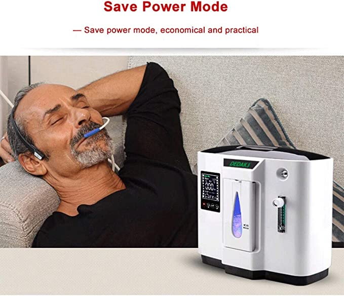 Port Generador de concentrador de oxígeno portátil de 1-5L / min ...