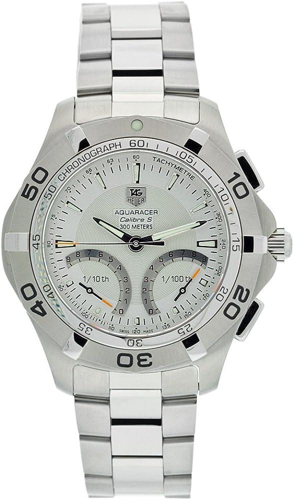 TAG Heuer Men s CAF7011.BA0815 Aquaracer Calibre S Chronograph Watch