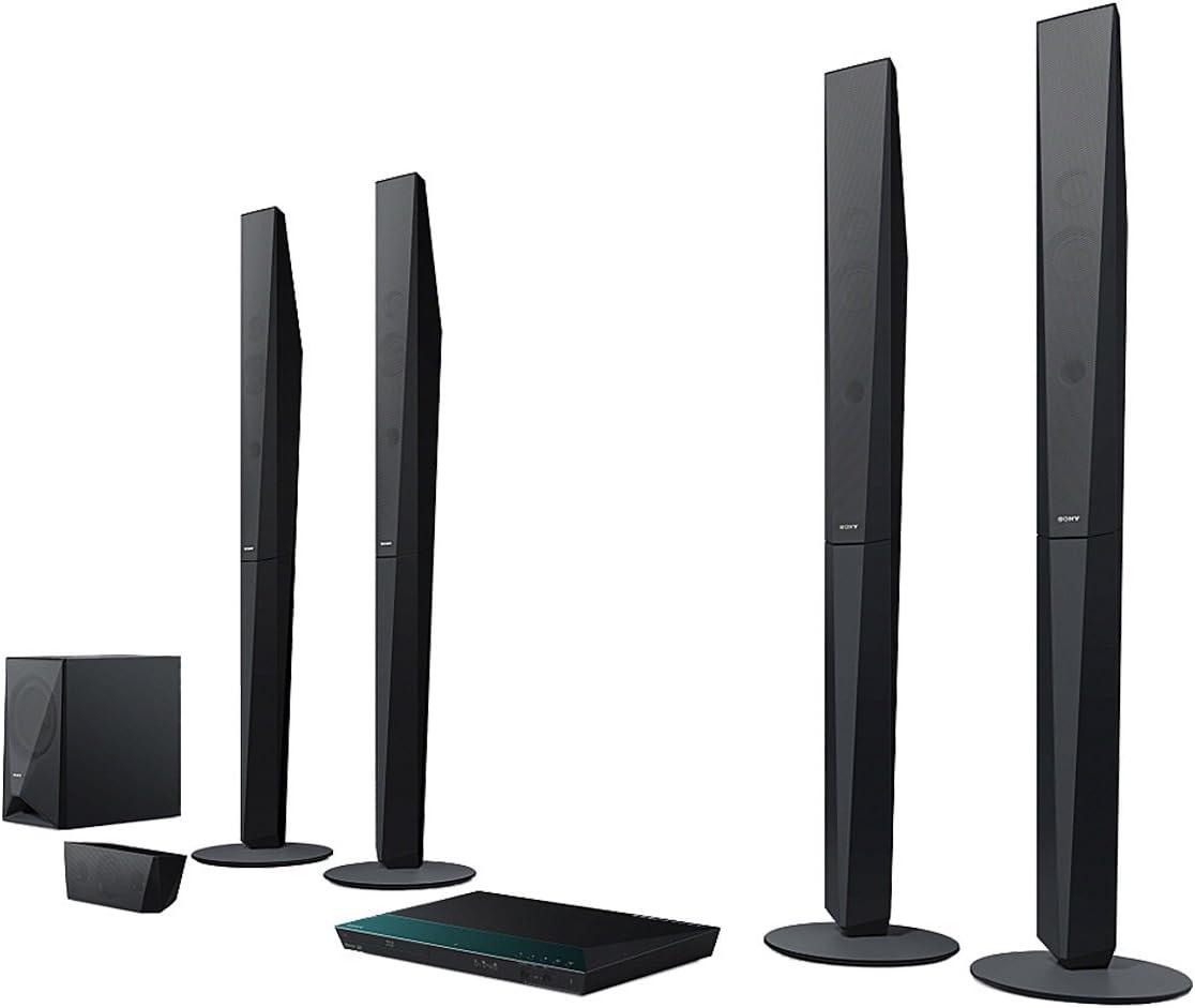 Sony BDV-E6100 - Equipo de Home Cinema (5.1, 1000W, Ethernet, HDMI, Bluetooth), Negro