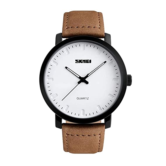Quartz Watches Men's Watches Bright Simple Fashion Men Wrist Watches Alloy Case Pu Synthetic Leather Quartz Watches Casual Sport Male Watch Wristwatches Clock Bh Discounts Sale