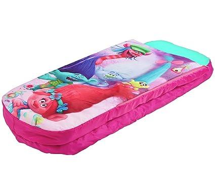 Trols Junior ReadyBed – Cama infantil hinchable y saco de dormir
