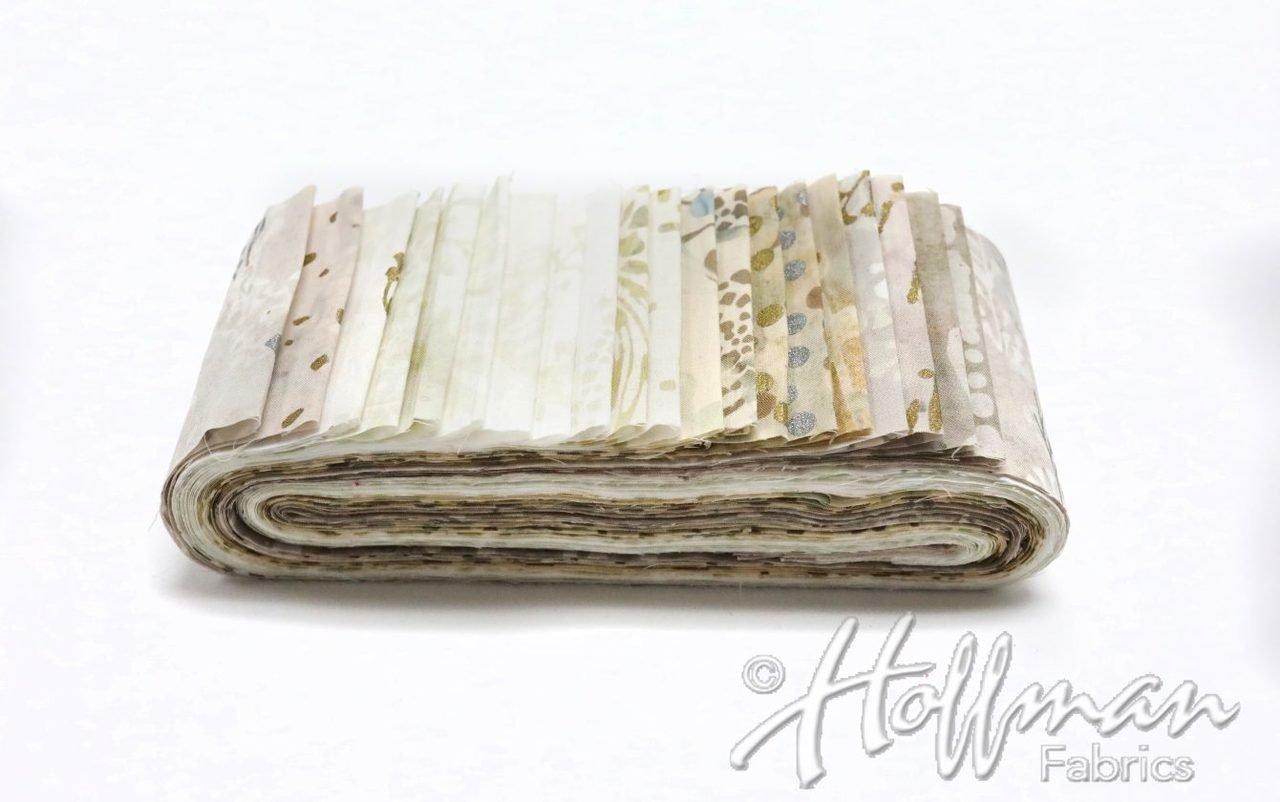 Switzerland Bali Poppy - Hoffman 20, 2.5 Precut Cotton Batik Strips BPP-665