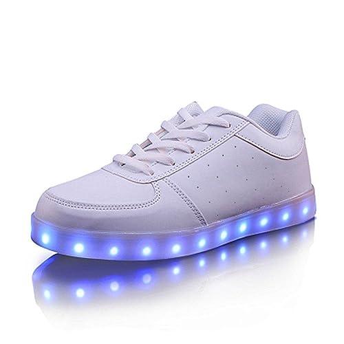 HUSK'SWARE USB Caricatore LED 7 Colori Lampeggiante Luminosi Unisex Sneaker Scarpe Bambini Bagazzi e Ragazze Scarpe Visita Libre Del Envío 1cZ3XPq