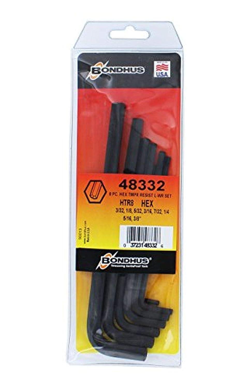 Amazon.com: Bondhus 48332 llaves en L hexagonales ...