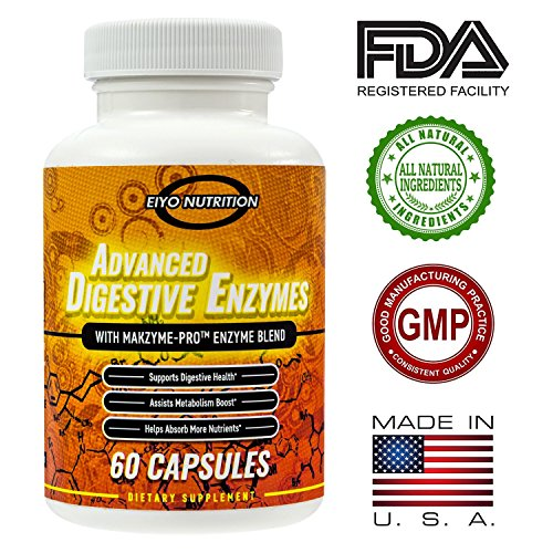 Digestive Enzyme Supplements – Enzymes, Enzyme, Digestive Enzyme, Enzyme Supplements, Digestive Aid for Adults, Digestive, Enzimas Digestivas, Eiyo Nutrition