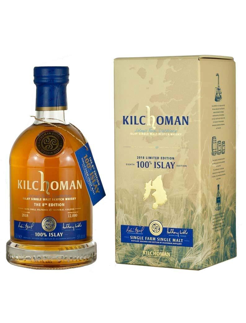 キルホーマン100% アイラ 8thリリース [ ウイスキー イギリス 700ml ] B07HG72F79