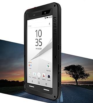 newest 0267e 4940e Waterproof Case for Sony Xperia Z5 Compact (4.6 inch), LOVE MEI ...