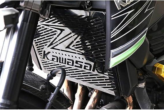 Chudan Z1000 Motorrad Kühlergrill Schutzblech Kühlerschutz Protector Kühlerabdeckung Edelstahl Cover Protection Für Kawasaki Z800 Z1000 Z1000sx Z750 Zr800 Sport Freizeit