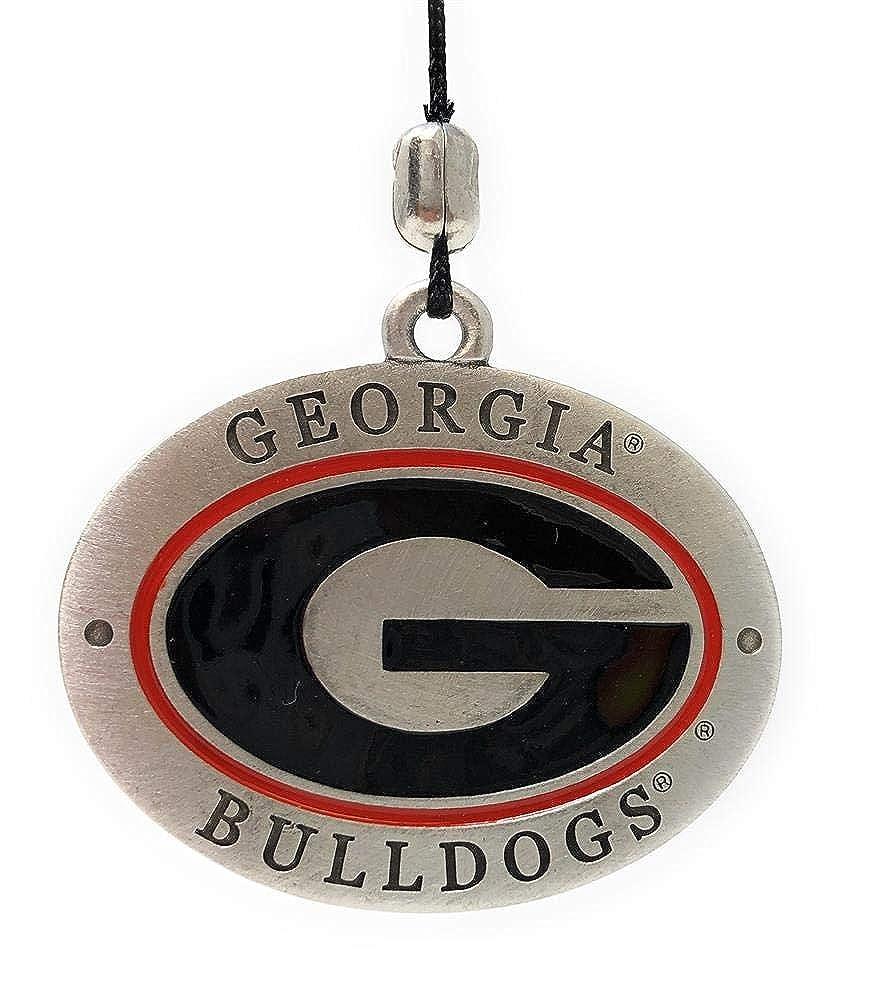 Georgia Bulldogs Logo Wind Chime