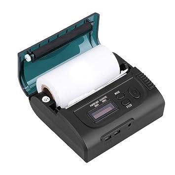 Excelvan 8002LD - Impresora de Recepción Portátil (Bluetooth 80MM ...