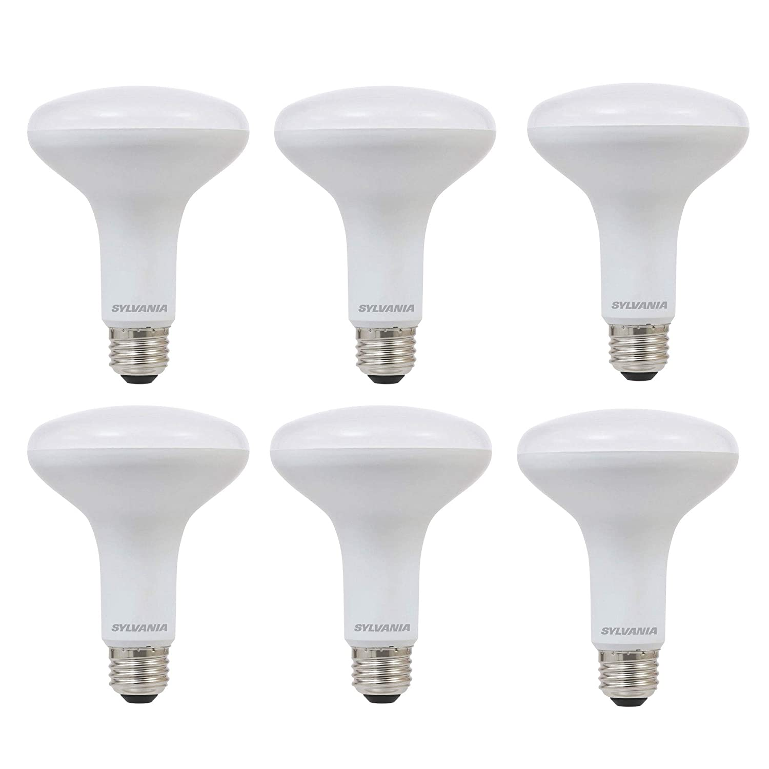 Sylvania BR30 65W Energy Saving Dimmable Soft White 2700K LED Flood Light Bulb (6 Pack) - - Amazon.com