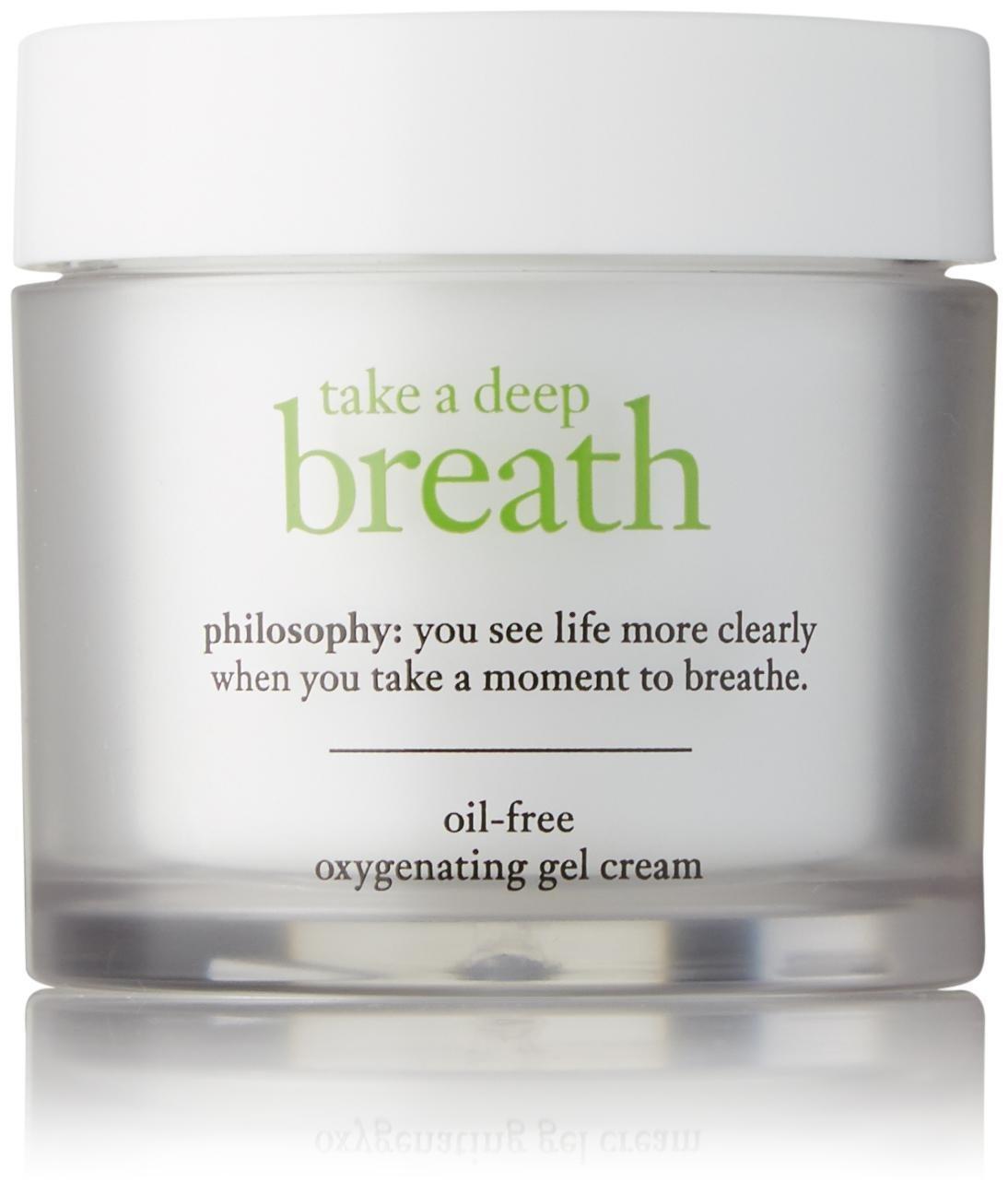 Philosophy Take a Deep Breath oil-free oxygenating gel cream, 2 oz