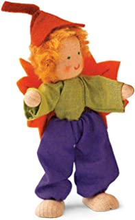 product image for Magic Cabin Kathe Kruse Handcrafted Autumn Dollhouse Fairy, in Brother