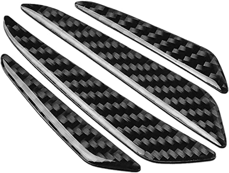 4X Universal Fit Carbon Fiber Car Door Side Edge Guard Protection Trim Stickers