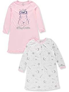 Carters Girls 2-Pack Nightgowns