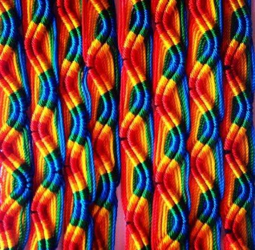 Wholesale Lot of 100 Peruvian Friendship Bracelets by Sanyork Fair Trade (Image #2)