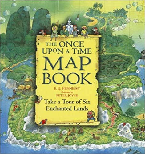 Book The Once Upon a Time Map Book: Take a Tour of Six Enchanted Lands