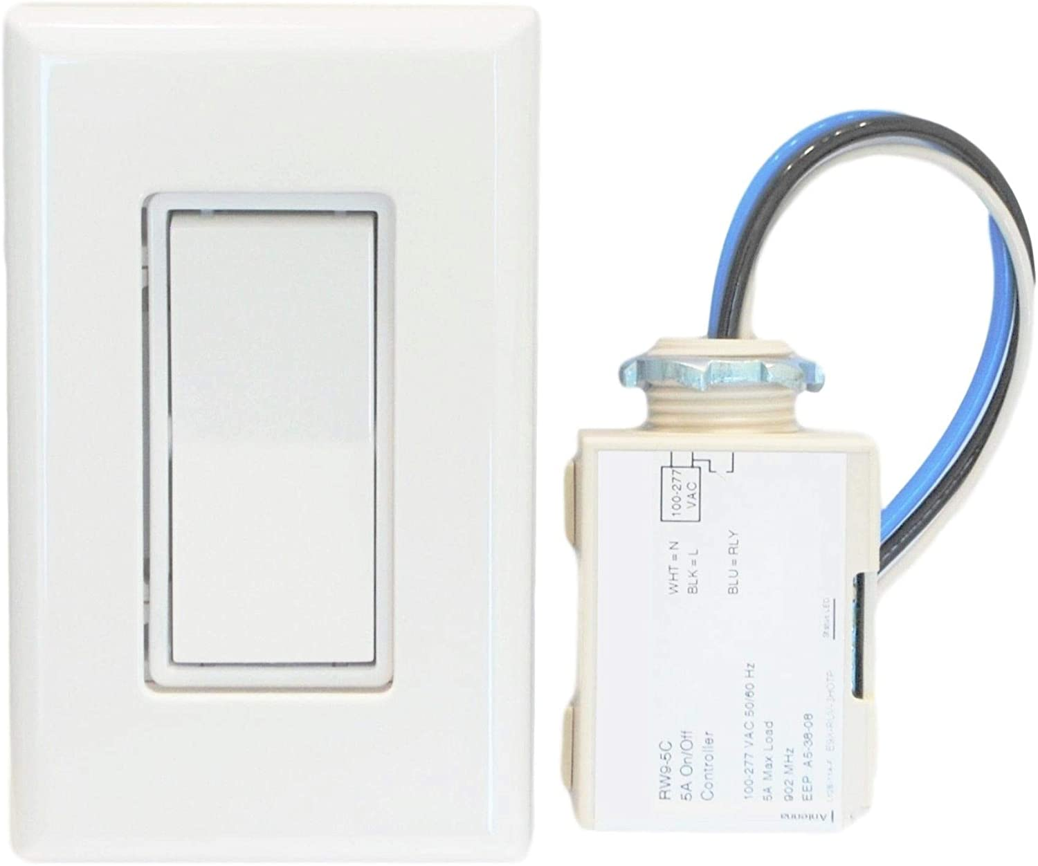 Basic Wireless Light Switch Kit Wall Light Switches Amazon Com